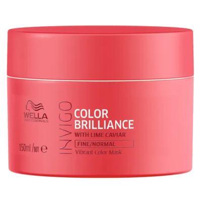 Imagem 4 do produto Kit Invigo Color Brilliance Wella - Shampooo + Condicionador + Máscara + Leave-in - Kit