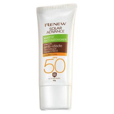 Imagem 1 do produto Protetor Solar Facial Renew Advance Matte com Cor Anti-Idade FPS50 50g - Protetor Solar Facial Renew Advance Matte com Cor Anti-Idade FPS50 50g - Escura