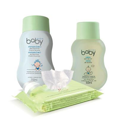 Kit Avon Baby Limpeza