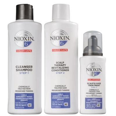 Imagem 1 do produto Kit Nioxin System 6 Shampoo 300ml + Condicionador 300ml + Leave-in 100ml
