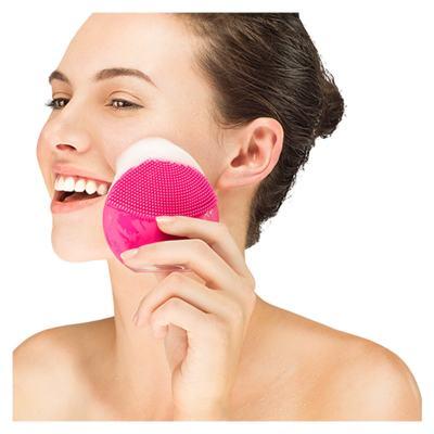 Imagem 5 do produto Luna Mini 2 Pearl Pink Foreo - Escova de Limpeza Facial - 125Hz