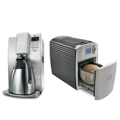 Imagem 1 do produto Cafeteira Gourmet Collection Oster + Máquina De Pão Artesanal Easy Bread Polishop - | 220V