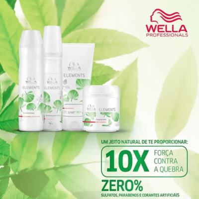 Imagem 5 do produto Shampoo Wella Professionals Elements Renewing - Shampoo Wella Professionals Elements Renewing 250ml