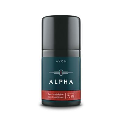 Desodorante Roll-On Antitranspirante Alpha - 75ml