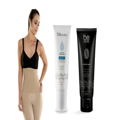 Imagem 2 do produto Slim Control + Redutor De Medidas e Gorduras Localizadas Active Lipo Sensation Be Emotion - | Nude G + Sensation + Cell Way