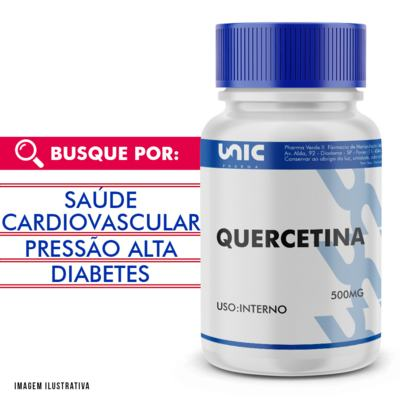 Quercetina 500mg - 120 Cápsulas