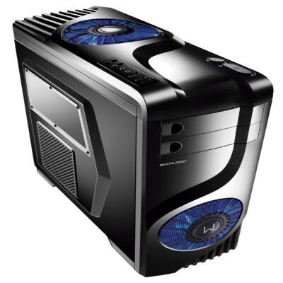 Imagem 1 do produto Gabinete Gamer Storm Multilaser com Cooler Atx - GA132 - GA132