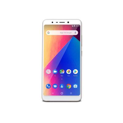 Imagem 1 do produto Smartphone Multilaser Ms60X Plus 2Gb Ram 16Gb Tela 5,7? Android 8.1 Câmera 13Mp+8Mp Dourado/Branco - NB740 - NB740