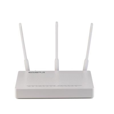 Onu Gpon Router Zxhn F670 Zte  4Ge + 2Fxs + Wifi Ac1600 - Multilaser- RE895 - RE895