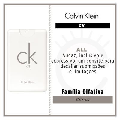 Imagem 2 do produto CK All Calvin Klein Perfume Unissex - Eau de Toilette - 20ml
