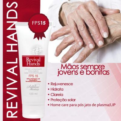 Imagem 2 do produto Revival Hands 120ml - Creme Hidratante para as Mãos com Fotoproteção FPS 15 - 120 ml