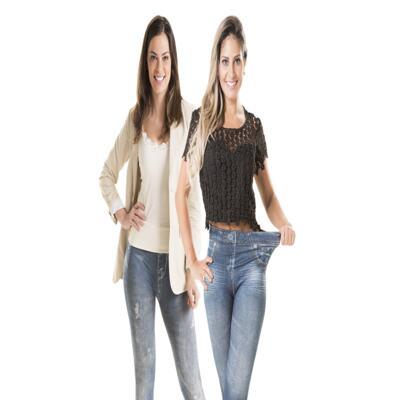 Imagem 2 do produto Calça Modeladora Lejeans - 2 Unidades - | Azul Clássica + Azul Despojada