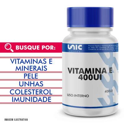 Imagem 1 do produto Vitamina e 400ui - 90 Cápsulas