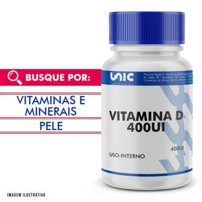 Imagem 1 do produto Vitamina d 400ui - 120 Cápsulas