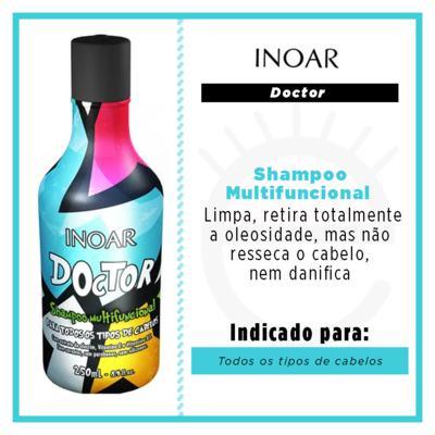 Imagem 2 do produto Inoar Doctor Shampoo Multifuncional - Shampoo Hidratante Copy - 250ml Copy