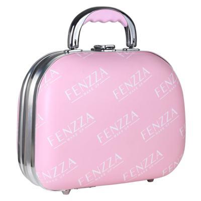 Maleta de Maquiagem Pequena Fenzza - Pin Up Lettre Collection Pink - Maleta de Maquiagem
