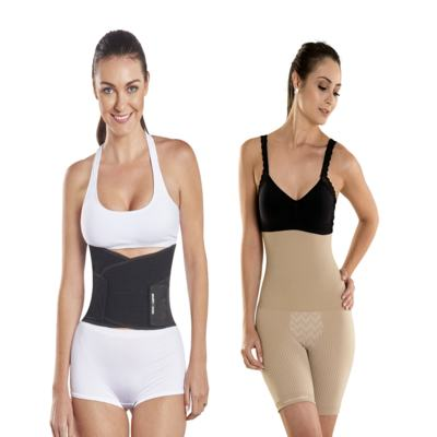 Imagem 12 do produto Shapenow Polishop + Modelador Slim Control Be Emotion - | Shapenow Preto + Slim Control Nude P+P