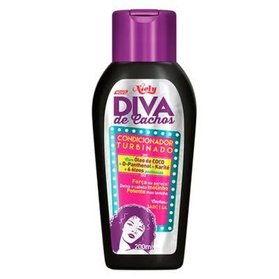 Imagem 3 do produto Diva de Cachos Soft Poo Niely - Shampoo + Condicionador + Creme para Pentear - Kit
