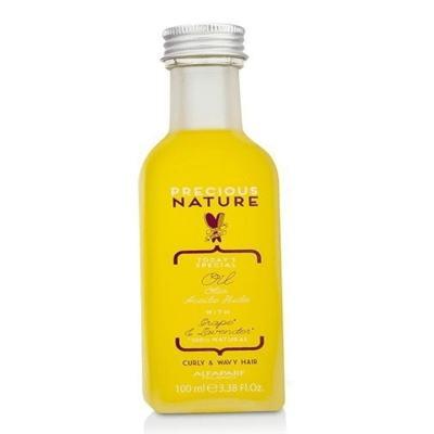 Imagem 4 do produto Alfaparf Precious Nature Curly Wavy Hair Oil Leave-in - Alfaparf Precious Nature Curly Wavy Hair Oil Leave-in 100ml
