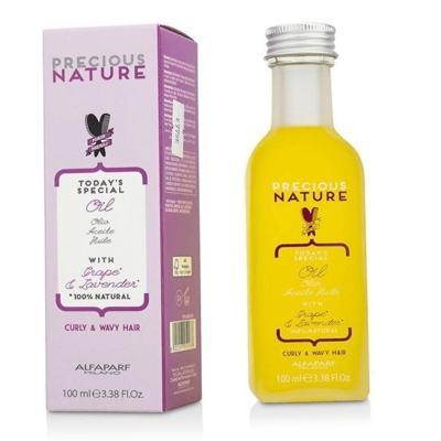 Imagem 5 do produto Alfaparf Precious Nature Curly Wavy Hair Oil Leave-in - Alfaparf Precious Nature Curly Wavy Hair Oil Leave-in 100ml