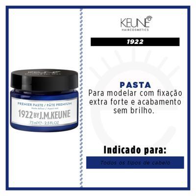 Imagem 2 do produto Keune 1922 Primer -  Pasta Modeladora - 75ml