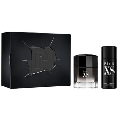 Imagem 1 do produto Paco Rabanne Black XS Kit - Perfume Masculino + Desodorante - Kit