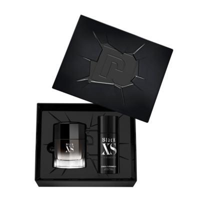 Imagem 2 do produto Paco Rabanne Black XS Kit - Perfume Masculino + Desodorante - Kit