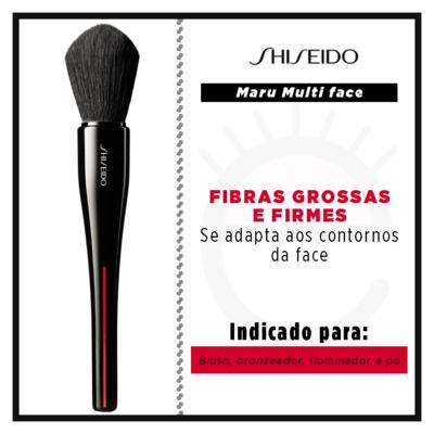 Imagem 2 do produto Pincel Facial Shiseido - Maru Multi Face Brush - 1 Un
