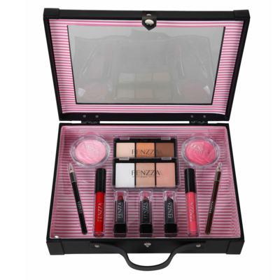 Imagem 2 do produto Maleta de Maquiagem Fenzza - Antique Collection Preta - Maleta de Maquiagem