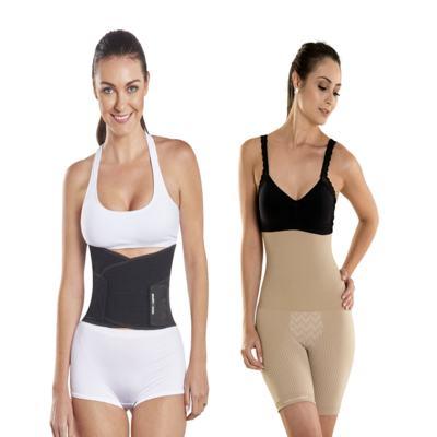 Imagem 1 do produto Shapenow Polishop + Modelador Slim Control Be Emotion - | Shapenow Preto + Slim Control Nude M+M