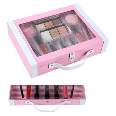 Imagem 1 do produto Maleta de Maquiagem Fenzza - Antique Collection Pink - Maleta de Maquiagem