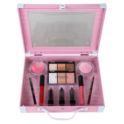 Imagem 2 do produto Maleta de Maquiagem Fenzza - Antique Collection Pink - Maleta de Maquiagem