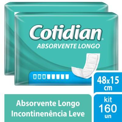 Imagem 2 do produto Kit Absorvente Geriátrico Cotidian Longo 160 unidades
