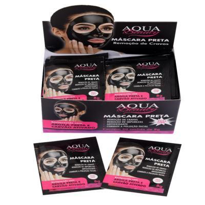 Imagem 2 do produto Máscara Facial Preta Aqua Beauty (50 sachês) -