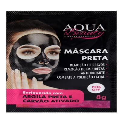 Imagem 3 do produto Máscara Facial Preta Aqua Beauty (50 sachês) -