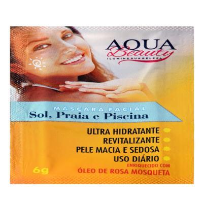 Imagem 2 do produto Máscara Facial Sol, Praia E Piscina Aqua Beauty (50 Sachês) -