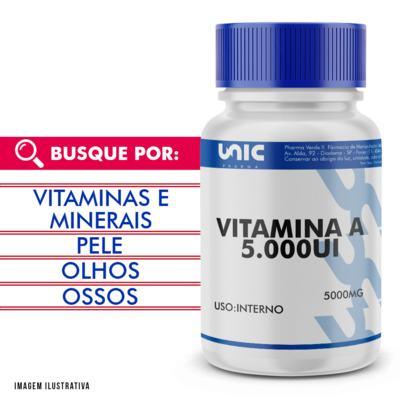 Imagem 1 do produto Vitamina a 5000ui - 90 Cápsulas