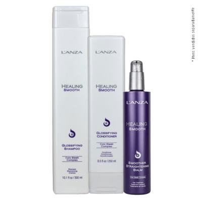 Imagem 3 do produto L'anza Healing Smooth - Condicionador Disciplinador - 250ml