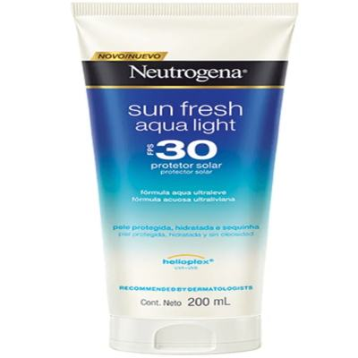Imagem 1 do produto Protetor Solar Neutrogena Sun Fresh Aqua Light FPS 30