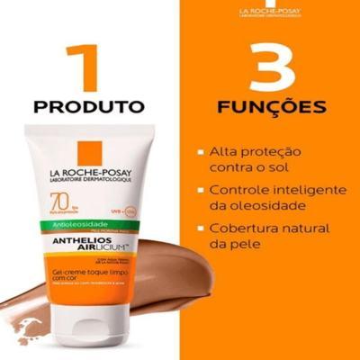 Imagem 8 do produto Protetor Solar Facial com Cor La Roche-Posay - Anthelios Airlicium Fps70 - Morena