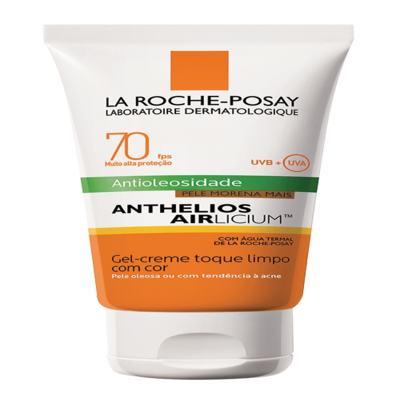 Imagem 6 do produto Protetor Solar Facial com Cor La Roche-Posay - Anthelios Airlicium Fps70 - Morena Mais