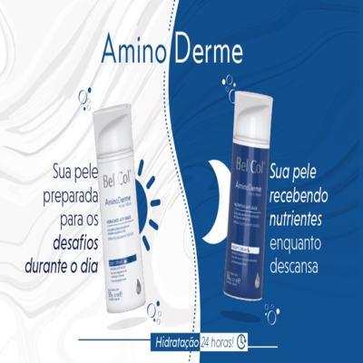 Imagem 3 do produto Hidratante Anti Idade Bel Col Aminoderme Night Cream