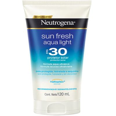 Protetor Solar Neutrogena Sun Fresh Aqua Light FPS 30