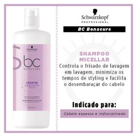 Shampoo Schwarzkopf BC Bonacure Keratin Smooth Perfect - Shampoo Schwarzkopf BC Bonacure Keratin Smooth Perfect 1000ml