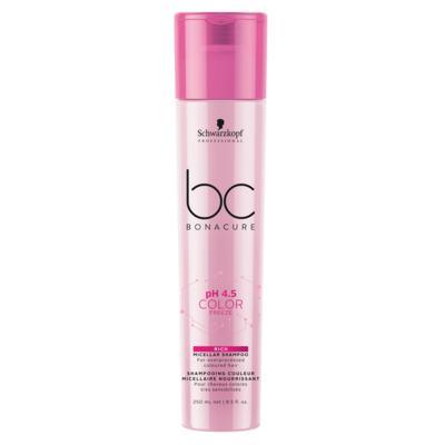 Imagem 1 do produto Shampoo Enriquecido BC pH 4.5 Color Freeze Micellar Schwarzkopf - 250ml