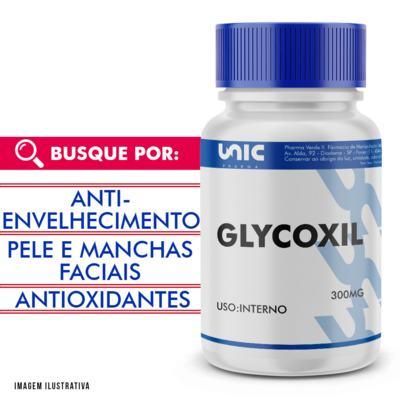Cápsulas para Fumantes - Glycoxil 300mg com selo de autenticidade - 60 Cápsulas