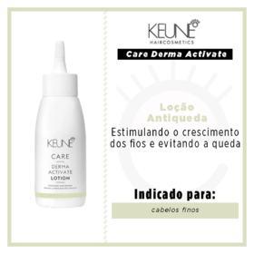 Keune Care Derma Activate Lotion Loção Antiqueda - 75ml