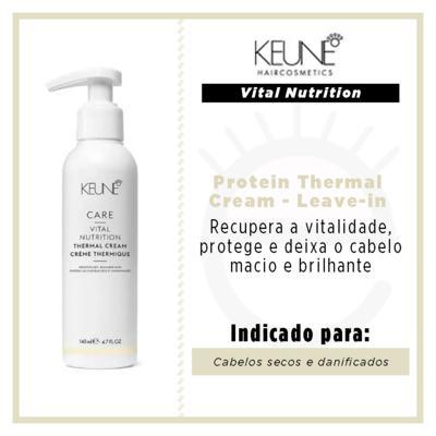 Imagem 3 do produto Keune Vital Nutrition Protein Thermal Cream - Leave-in - 140ml
