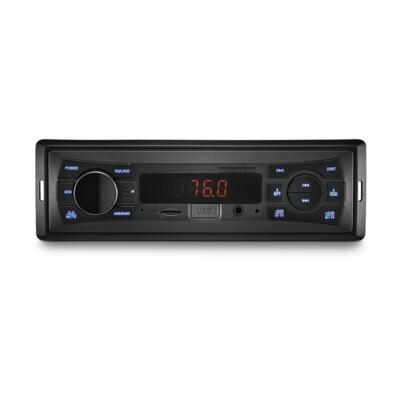 Imagem 1 do produto Som Automotivo Vibe 1 Din MP3 4x25WRMS Rádio FM + Entrada Cartão SD + USB + AUX Multilaser - P3333 - P3333