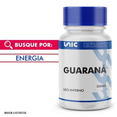 Guaraná 500mg - 120 Cápsulas